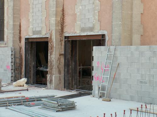 Ouverture des portes de la nouvelle église...